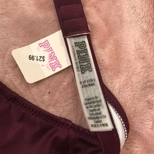 PINK Victoria's Secret Swim - NWT PINK Swimsuit Top